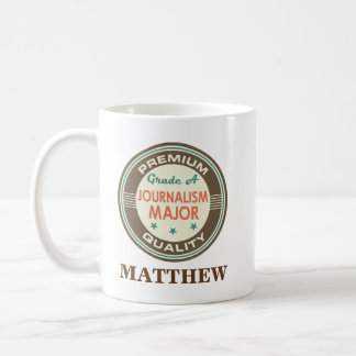 Journalism Major Personalized Office Mug Gift