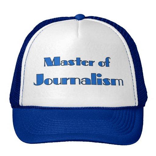 Journalism Mesh Hats
