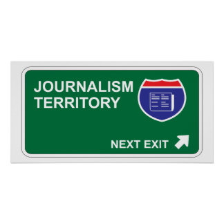 Journalism Next Exit Posters