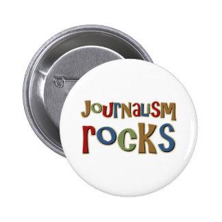 Journalism Rocks Pinback Button