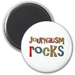Journalism Rocks Refrigerator Magnet
