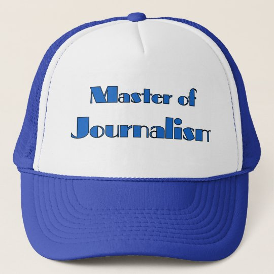 Journalism Trucker Hat