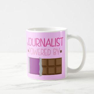 Journalist Chocolate Gift for Her Classic White Coffee Mug