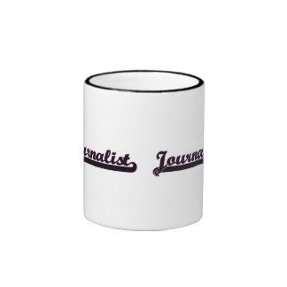 Journalist Classic Job Design Ringer Coffee Mug