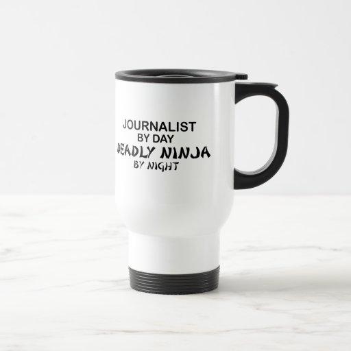 Journalist Deadly Ninja by Night Mug