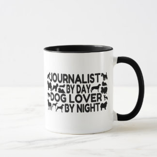 Journalist Dog Lover Mug