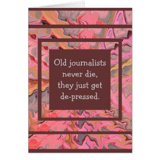journalist humor card
