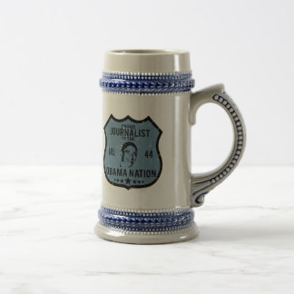 Journalist Obama Nation Beer Stein