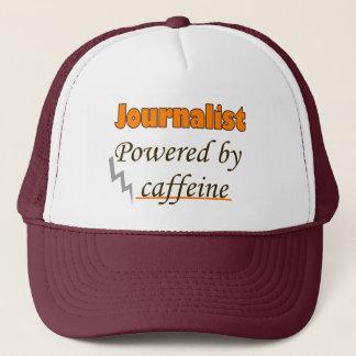 Journalist Powered by caffeine Trucker Hat
