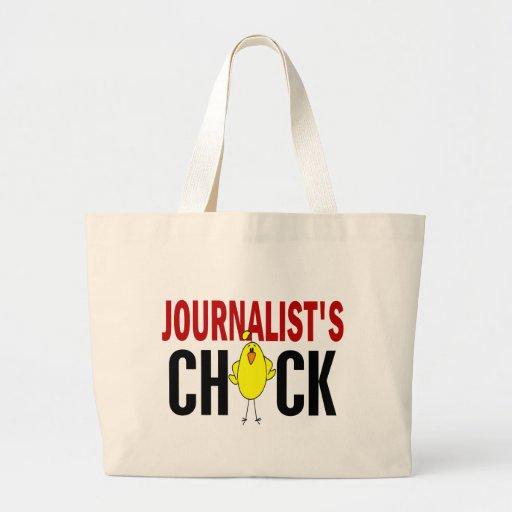JOURNALIST'S CHICK JUMBO TOTE BAG