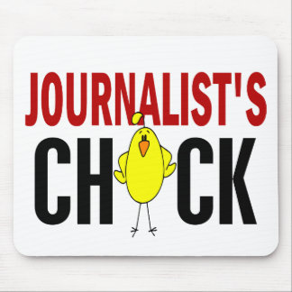 JOURNALIST'S CHICK MOUSE PADS