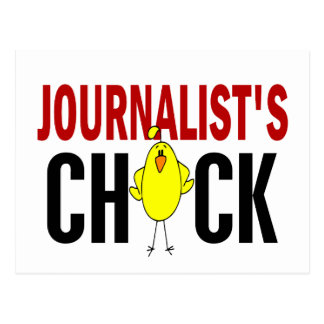 JOURNALIST'S CHICK POST CARD
