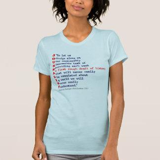 Journalist T-shirts