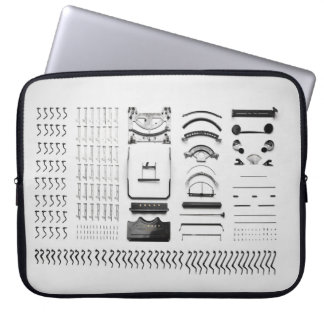 Journalist Vintage Disassembled Typewriter Sleeve Laptop Sleeves