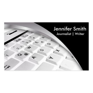 Journalist   Writer   Blogger  Reporter Business Card