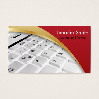 Journalist | Writer | Blogger |Reporter Business Card