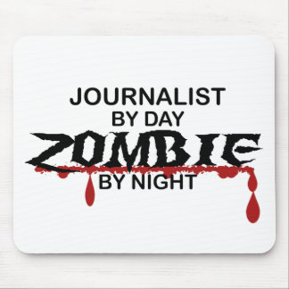 Journalist Zombie Mouse Pad