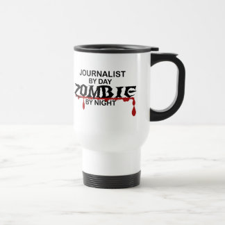 Journalist Zombie Travel Mug