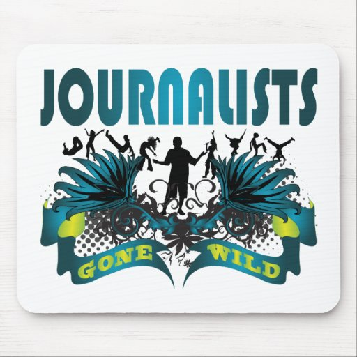 Journalists Gone Wild Mouse Pad
