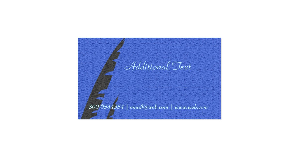 Journalists Stylish Writer Editor Business Card : Zazzle