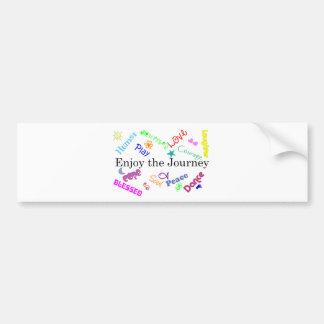 journey bumper sticker