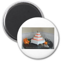 Journey Cake Magnet
