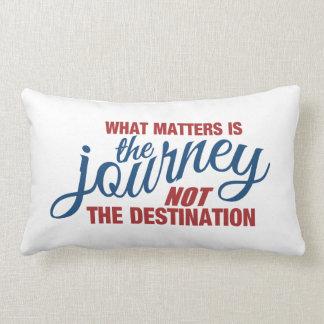 JOURNEY custom throw pillow
