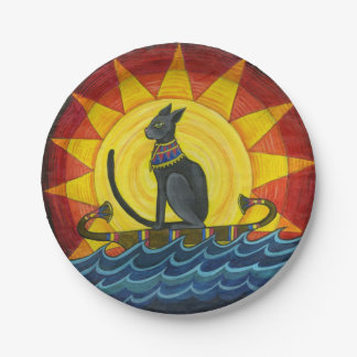 Journey Down The Nile Paper plates 7 Inch Paper Plate