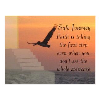 Journey & faith_ postcard