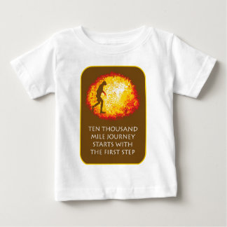 Journey First Step Brown Infant T-shirt