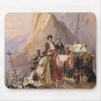 Journey from Paris to Cadiz, 1846 Mouse Pad