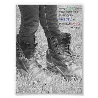 Journey in Your Own Boots Poster