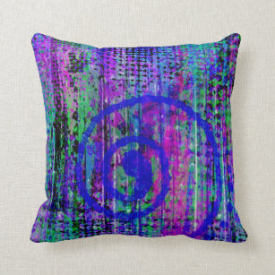 Journey Into My Imagination Abstract Throw Pillow
