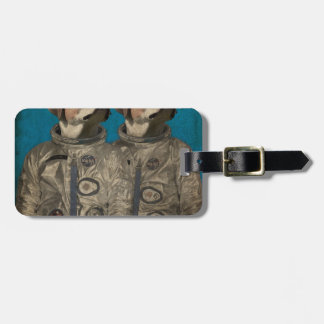 Journey into outer space bag tag