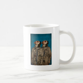 Journey into outer space coffee mug