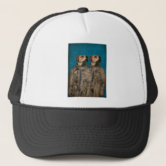 Journey into outer space trucker hat