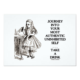 Journey Into Your Most Authentic Uninhibited Self Card