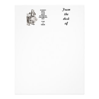 Journey Into Your Most Authentic Uninhibited Self Letterhead
