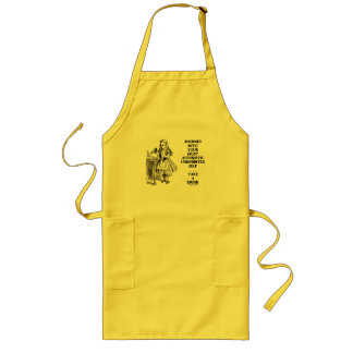 Journey Into Your Most Authentic Uninhibited Self Long Apron