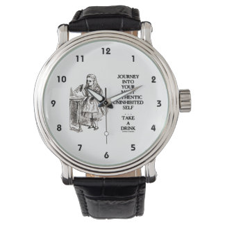 Journey Into Your Most Authentic Uninhibited Self Wrist Watch