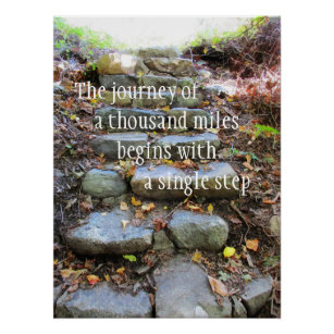 Journey Of A Thousand Miles Poster