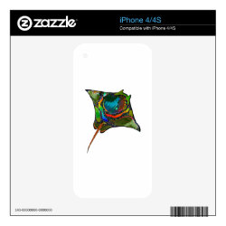 iPhone 4/4S Skin with Maltese Phone Cases design
