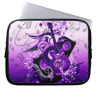 Journey of music_ laptop computer sleeves
