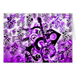 Journey Of Music,Rocks Purple_ Greeting Card
