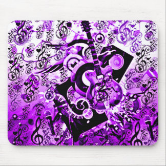 Journey Of Music,Rocks Purple_ Mouse Pad