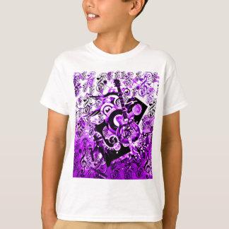 Journey Of Music,Rocks Purple_ T-Shirt