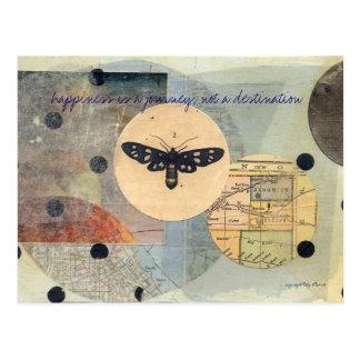 """journey"" postcard"