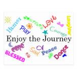journey postcard