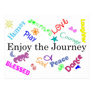 journey post card