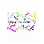 journey postcards